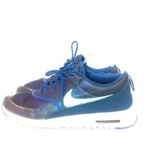 Nike Air Max Thea Blue Athletic Running Shoe